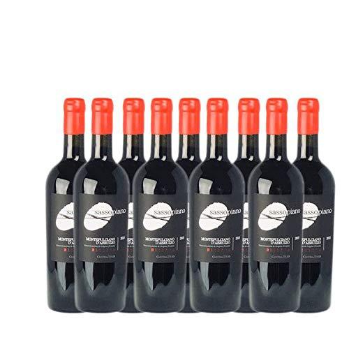 Rotwein Italien Montepulciano d´Abruzzo Riserva Sassopiano trocken (9x0,75l)