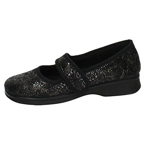 ZAPATOP , Chaussures Femme - Noir - Noir, 35 EU
