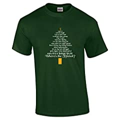 Clark Rant Funny Christmas Adult Mens T Shirt Made in USA Mens Sizing Handmade