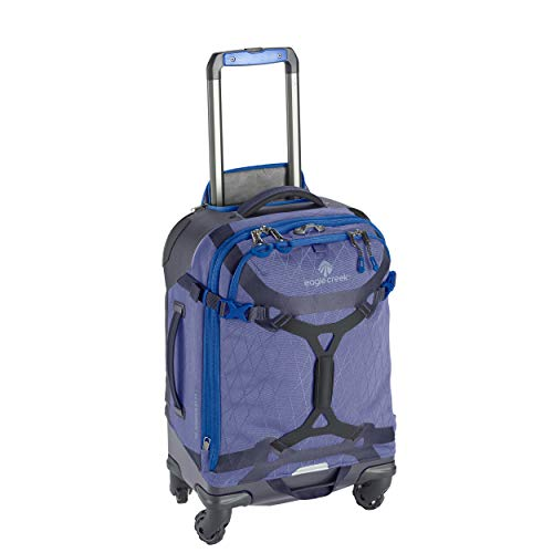 Eagle Creek Gear Warrior Carry Luggage Softside 4-Wheel Rolling Suitcase, Arctic Blue, 22 Inch
