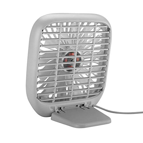 Fan Portable Mini 3-Speed ​​USB Cooling Fan, Silent kleine ventilator voor in de auto achterbank Air Conditioner,White