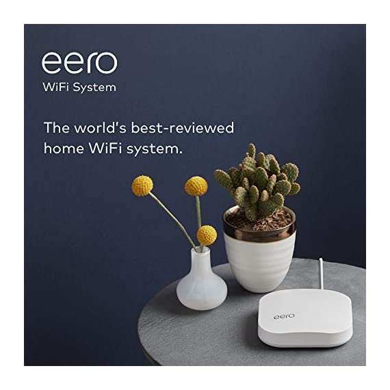 Amazon eero Pro mesh WiFi system (1 Pro + 2 Beacons) 13 Whole-home WiFi system - The Amazon eero Pro mesh WiFi system (3 eero Pros) replaces the traditional WiFi router, WiFi extender, and internet booster by covering a 5+ bedroom home with fast and reliable internet powered by a mesh network. eero 2nd generation - With the most intelligent mesh WiFi technology and powerful hardware, the eero 2nd generation WiFi system is 2x as fast as the original eero WiFi. Backwards compatible with 1st generation eero products. Cutting edge home WiFi - Unlike the common internet routers and wireless access points, eero automatically updates once a month, always keeping your home WiFi system on the cutting edge.