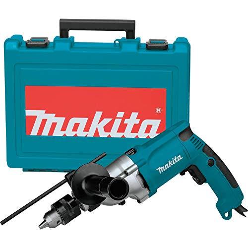 Makita HP2050 Taladro Percutor 720W 2.5 Kg 1200-2900 RPM Portabrocas con Llave, 720 W, 240 V, Azul, 1.3 cm