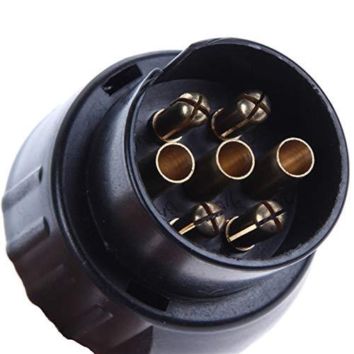 Hecho de materiales fuertes. Remolque adaptador convertidor eléctrico de remolque Enganche de...