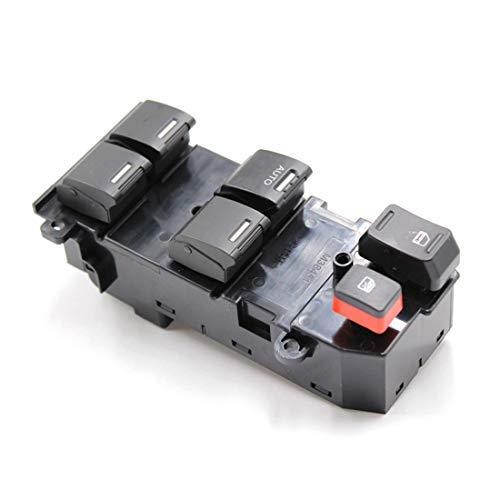 LUOAN AUTO PARTS Interruptor de Ventana de alimentación Principal Izquierdo del Lado del Conductor 35750-SWA-K01 para H/Onda CRV 2007 2008 2009 2010 2011 Interruptor de Control eléctrico