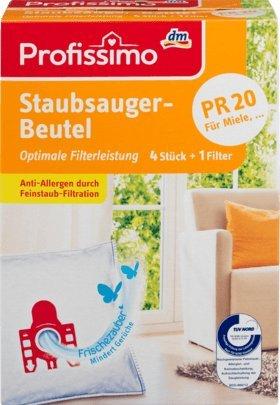 Profissimo Staubsaugerbeutel PR20, 1 x 4 St