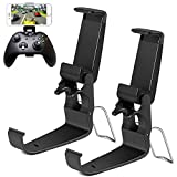 HJD Store, 2 supporti pieghevoli per smartphone, per iPhone/One-Plus/LG/Huawei/HTC, compatibili con Xbox One/Steelseries Nimbus/Steam Controller