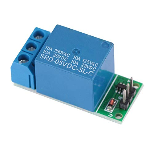Relaismodul 1-Kanal-DC 5V-Flipflop-Verriegelungsrelais Bistabiler selbsthemmender Schalter Low-Pulse-Trigger-Board zur Steuerung von DC-Motoren 【2er Pack】
