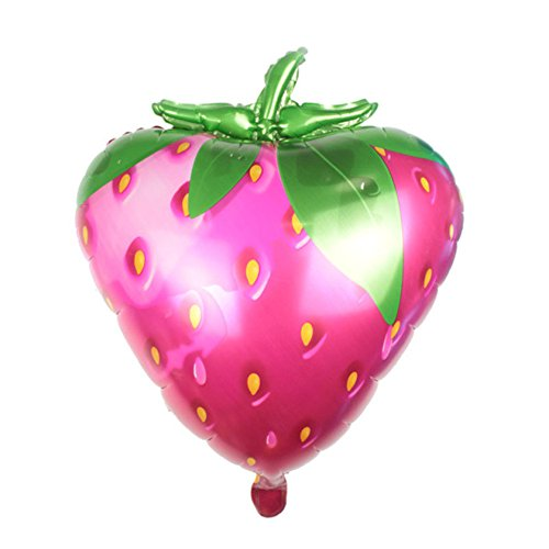 Ximkee Jumbo 28 Inch Erdbeere Folie Ballons Geburtstag Hochzeit Party Supplies Xmas Kids ' Toy Gifts Pack of 2