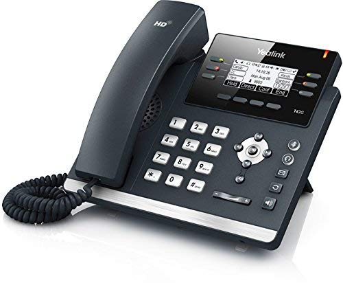 Yealink T42G Skype für Business Desk Phone | T42 VoIP-Telefon | POE Powered (Erneute)