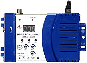 VHF UHF Signal Amplifier for Satellite Receivers US Plug fosa Digital RF Modulator Audio Video AV inputs into RF /& TV Output Signals AV-RF AV-TV Converter Game Consoles Video Cameras CCD Cameras