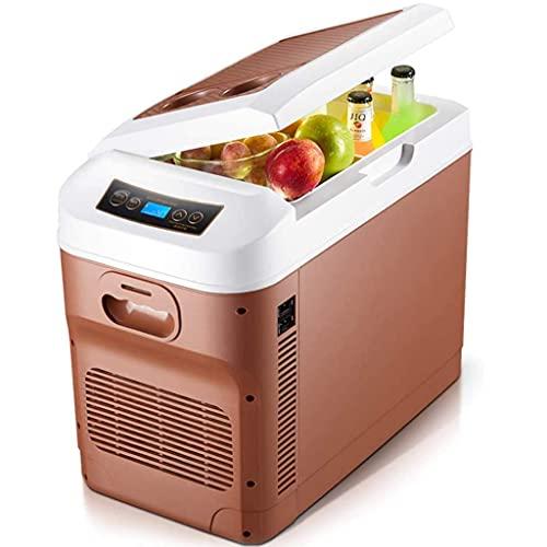 JLKDF Refrigerador de Coche congelador Nevera eléctrica 12v 24V 220V-240V Refrigerador de Coche portátil 28 litros Mini Nevera de Camping para Autocaravana, vehículo, RV, Barco, Viajes,