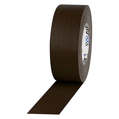 ProTapes Pro Gaff Premium Matte Cloth Gaffer's Tape With Rubber Adhesive, 11 mils Thick, 55 yds Length, 2