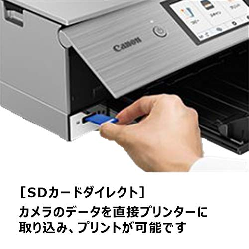CanonプリンターA4インクジェット複合機PIXUSXK60テレワーク向け