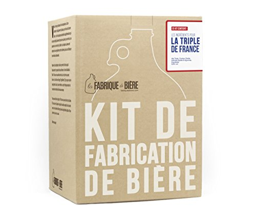 La Fabrique À Bière - Kit De Fabrication De Bière - La Triple De France