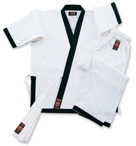 M.A.R International Karateanzug / Gi, Weiß / Schwarz Weiß weiß 150 cm