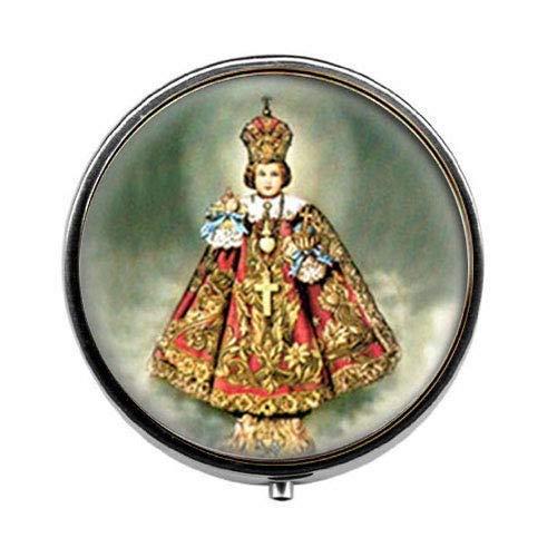 Nfant Jesús - Pastillero católico, caja de caramelos, joyería religiosa de cristal...