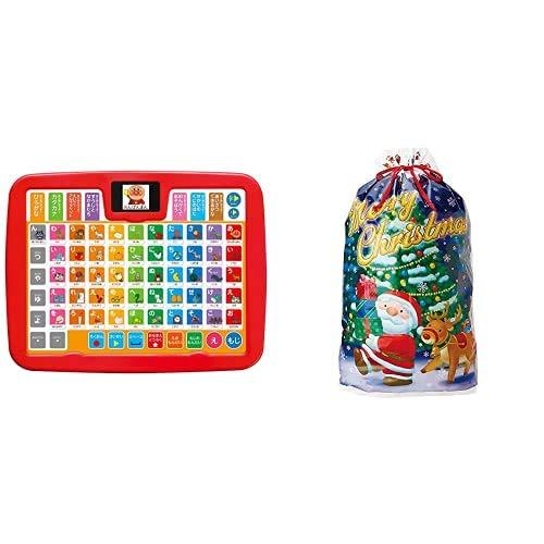 アンパンマン カラーキッズタブレット + サンリオ(SANRIO) ラッピング袋 ジャンボサイズ