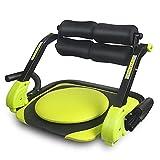 JIYINGDUO Bauch-Trainingsgeräte für Rücken, Beine und Ganzkörper Multi-Trainer für Zuhause, Übungsgerät Sit-Up Faltbarer Bauch-FitnessTrainer