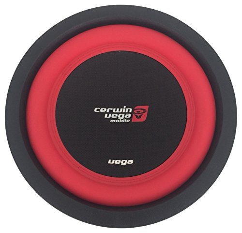 CERWIN VEGA V102D 800 Watts 2 Ohms/400Watts RMS Power Handling Max 10-Inch Dual Voice Coil, Red