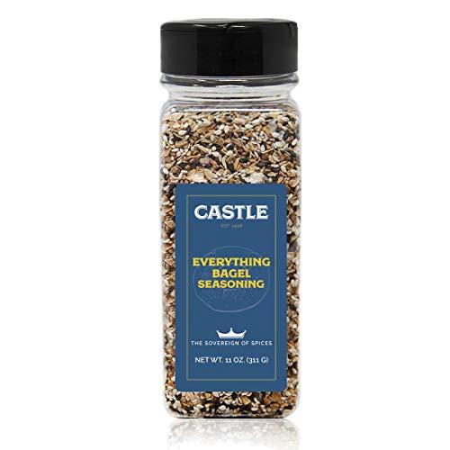 Castle Foods Everything Bagel Seasoning, 11 Ounce