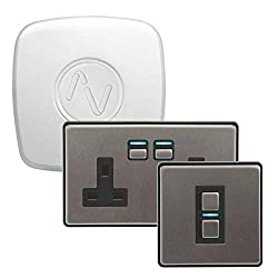 Begin your home automation adventure with the Lighting & Power Starter Kit from Lightwave. With a Link Plus, a Smart Series Dimmer and a Smart Series Socket, you'll have everything you need to start controlling your lights, appliances, and more This ...