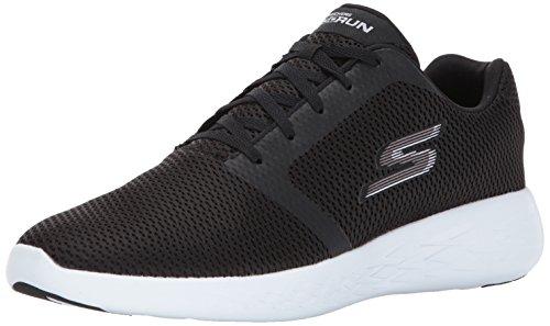Skechers Go Run 600 - Refine - Schwarz/Weiß Textil