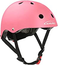KAMUGO Kids Helmet,Toddler Helmet Adjustable Kids Helmet CPSC Certified Ages 3-8 Years Old Boys Girls Multi- Sports Safety Cycling Skating Scooter and Other Extreme Activities Helmet (Pink)
