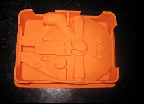 Star Wars Millennium Falcon Silicone Cake Pan Chocolate Jello Mold