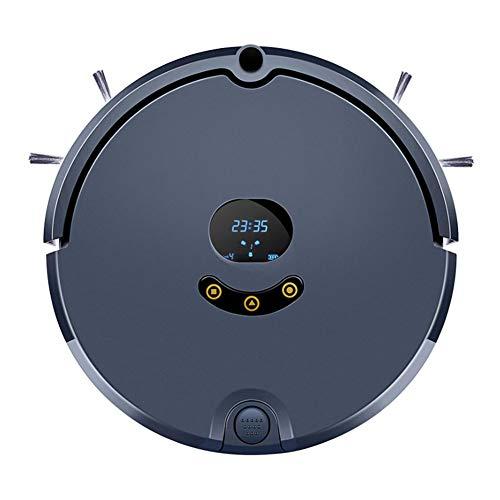 Kaper Go Robot aspiradora, limpiador de aspiradora de planificación inteligente, potencia de succión de 1800PA, carga automática 3 en 1, pisos de madera de limpieza, alfombras, azulejos, cabello de ma