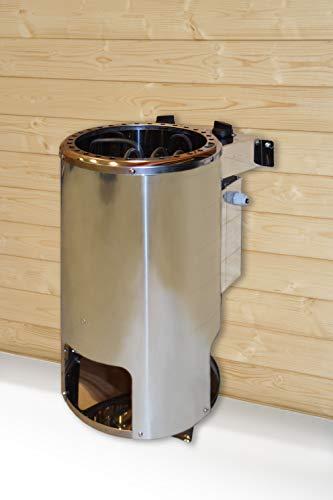 Weka Saunaofen Kompakt rund 3,6 kW 230 Volt Ofen 3,6 kW