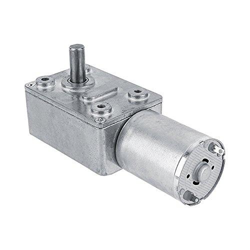 High Torque Turbo Geared Motor DC 12V Motor 2/3/5/610/20/30/40/62/100RPM (62 RPM)