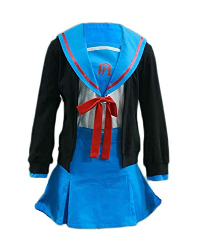 Chong Seng CHIUS Cosplay Costume Winter School Uniform for Nagato Yuki...