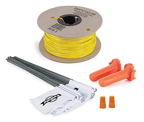 PetSafe - Kit de Extensión de Valla Antifuga para Perros, Complemento para Sistema Limitador de Zona con Cable In-Ground Fence, Carrete de 150 m de Alambre Amarillo Calibre 20 + 50 Banderas ✅