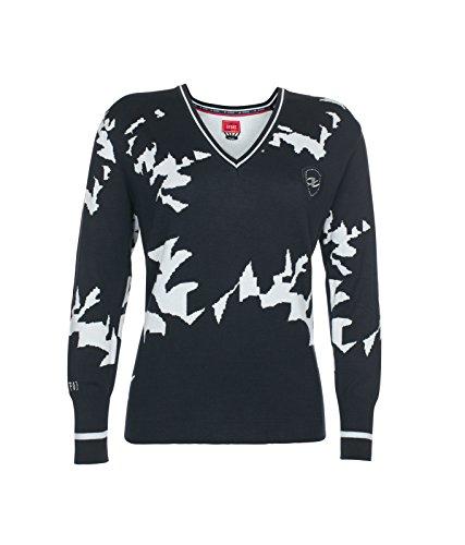 XFORE Golfwear - Golf-Pullover & -Sweatshirts für Damen in Navy Blue/Light Blue