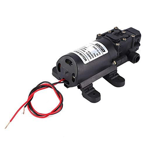 Bomba de cebado automático 12V 70W, bomba de agua de diafragma de cebado automático, bomba de agua de diafragma de rosca de tornillo, bajo nivel de ruido, alta presión, succión simple