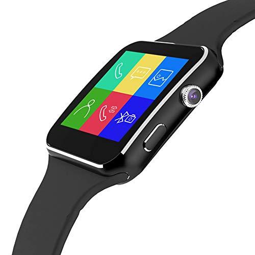 Metermall Arc Screen Smart Watch Lumin X6 Smartwatch Camera Sim Card Bluetooth Wrist Decor Gifts black