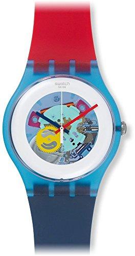 Swatch Reloj de Cuarzo Unisex Color My Laquered 41 mm