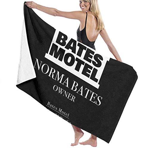XCNGG Psycho Norman Bates Motel Owner Business Card Toalla de baño de calidad de hotel de cinco estrellas. Toalla de baño de la colección Premium. Suave, felpa y altamente absorbente (1 toalla de baño