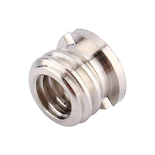 HUANRUOBAIHUO 1/4'and 3/8' Screw Converter Female 1/4 to 3/8 Male to Adapter Screw Conversion Adapter for Tripod Camera 3D Printer Parts