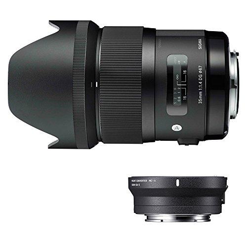 Sigma 340954_89E965 - Kit 35 mm F1.4 Art EOS + MC-11, Color Negro