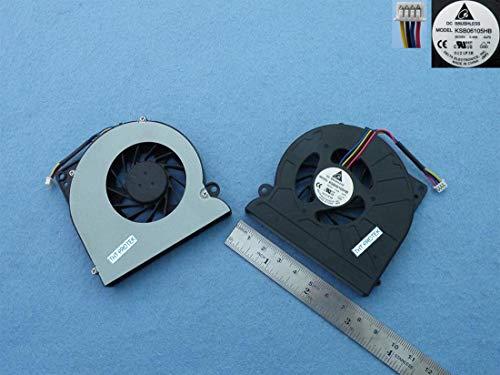 Kompatibel für ASUS N64X, K52N, K52D Lüfter Kühler Fan Cooler Version 1