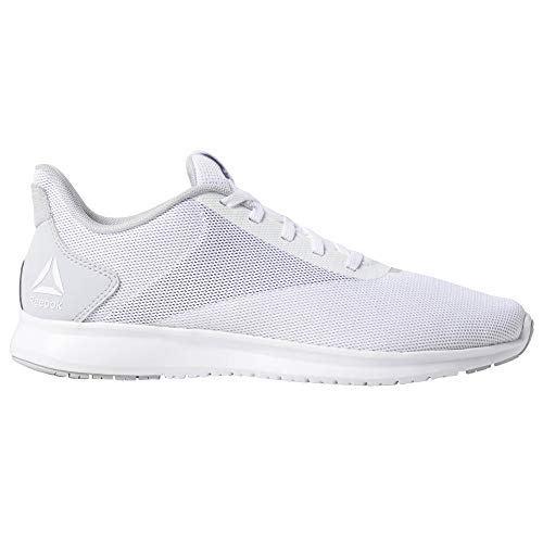 Reebok Instalite Lux, Zapatillas de Trail Running Mujer, Multicolor (White/Cold Grey4r/2r/Pure Slvr/Porcelain 000), 39 EU
