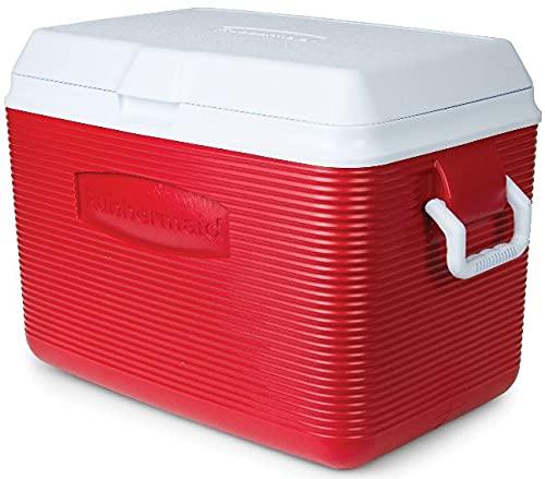 CR-Super 48-Quart Hard Thermocooler, Red