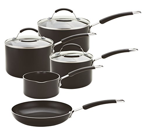 Meyer - Induction - Non-Stick Cookware Set - Aluminium - 10-Year Guarantee...