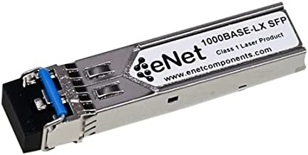 eNet Components - ISFP-GIG-LX-ENC - Alcatel-Lucent iSFP-GIG-LX Compatible 1000BASE-LX SFP 1310nm 10km Duplex LC Connector Industrial Temp - 100% Tested and Compatibility Guaranteed