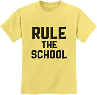 Tstars - Rule The School Funny Back to School Gift Youth Kids T-Shirt