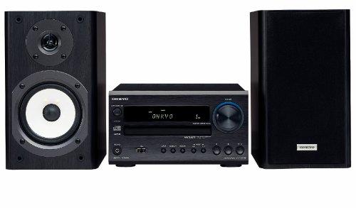 ONKYO CS-535 - Unidad de CD (96 Db, 20 W + 20 W, 0,4%, 22 W + 22W, 20 W + 20 W, 14 W + 14 W, 87.5-108 MHz, 522-1611 kHz) Negro