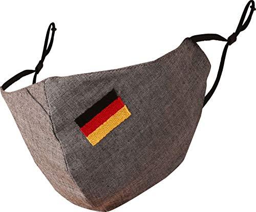 Touchstone German Deutsch Flag Embroidered 3 Layer...