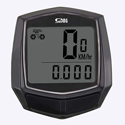 For Sale! Bicycle Speedometer Bike Waterproof Wired Multifunctional Bicycle LCD Computer Odometer Sp...